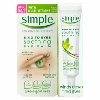 Simple Kind To Eyes Soothing Eye Balm