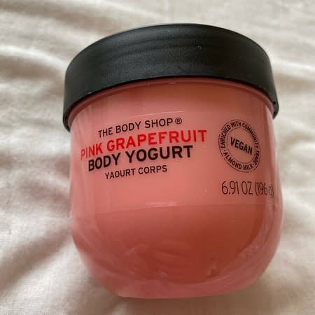 Body Shop Pink Grapefruit Body Yogurt Vegan 200ml