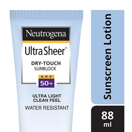 Neutrogena Ultra Sheer Dry Touch Sunblock SPF 50+ Sunscreen (Neutrogena Ultra Sheer Dry Touch Sunblock SPF 50+ Sunscreen Sunscreen)