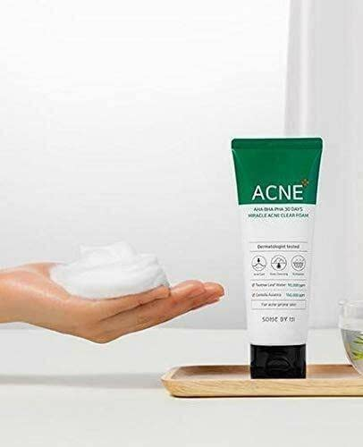 SOME BY MI AHA, BHA, PHA 30 Days Miracle Acne Clear Foam