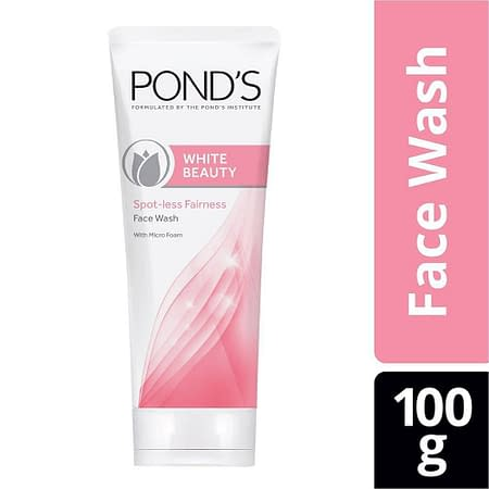 Pond's White Beauty Daily Facial Foam Spot-Less Rosy White 100g