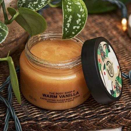 The Body Shop Warm Vanilla Body Scrub 250ml