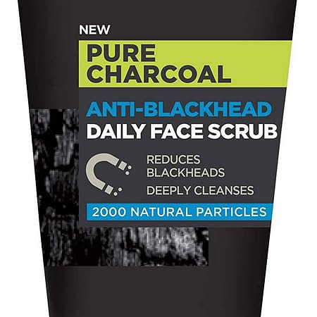 L'Oréal Men Expert Anti-Blackhead Daily Face Scrub, 100ml (Face Scrub)