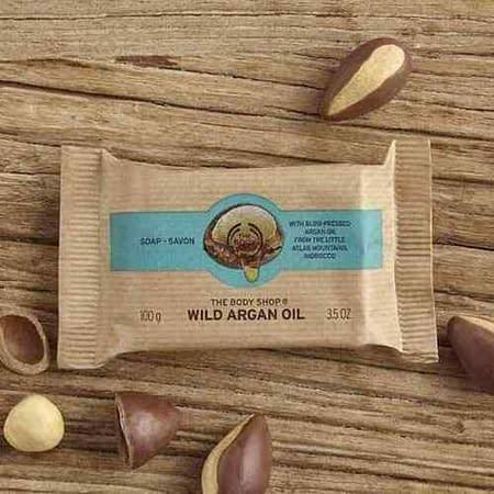 The Body Shop Wild Argan Oil Soap Bar 100g