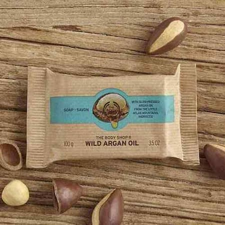 The Body Shop Wild Argan Oil Soap Bar 100g