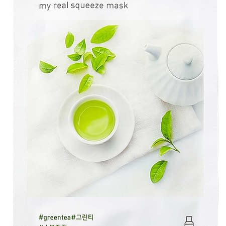 Innisfree My Real Squeeze Mask – Green Tea