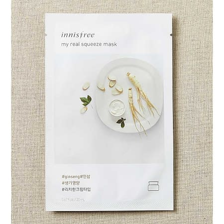 Innisfree My Real Squeeze Mask – Ginseng