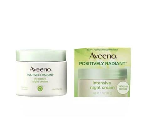 Aveeno Positively Radiant Intensive Moisturizing Night Cream