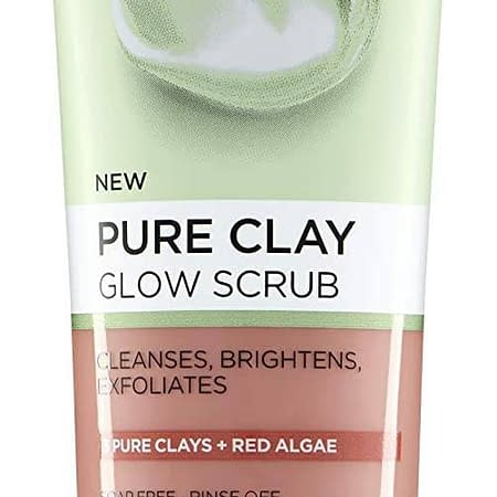 L'Oreal Pure Clay Glow Scrub 150ml (Red Algae Glow Scrub)