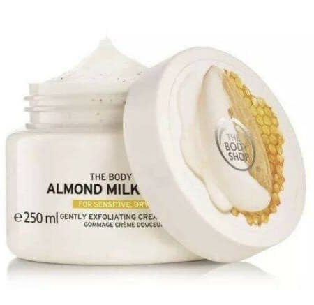 The Body Shop Almond Milk & Honey Gently Exfoliating Cream Scrub 250ml