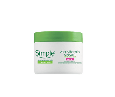 Simple Kind to Skin Vital Vitamin Day Cream SPF 15
