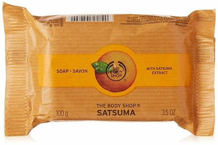 The Body Shop Satsuma Soap, Certified Sustainable Palm Oil
