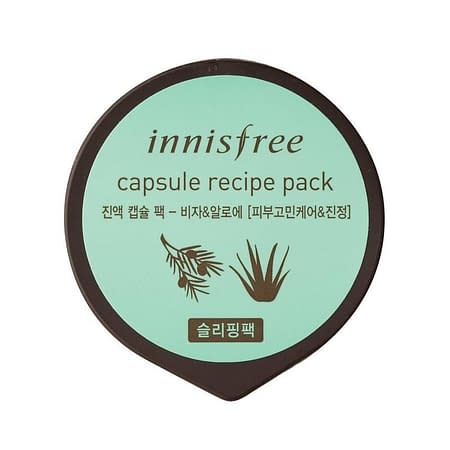 Innisfree Capsule Recipe Pack Bija And Aloe