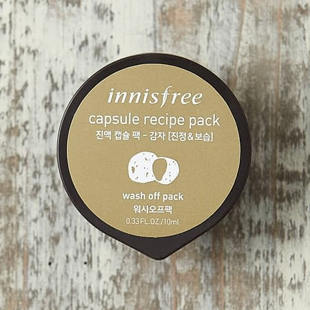 Innisfree Capsule Recipe Pack Potato