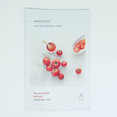 Innisfree My Real Squeeze Mask – Tomato 283*** (koto ml kothaw dawa nai)
