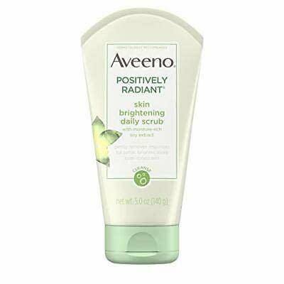 Aveeno Positively Radiant Skin Brightening Exfoliating Daily Facial Scrub