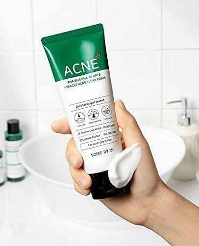 SOME BY MI AHA, BHA, PHA 30 Days Miracle Acne Clear Foam
