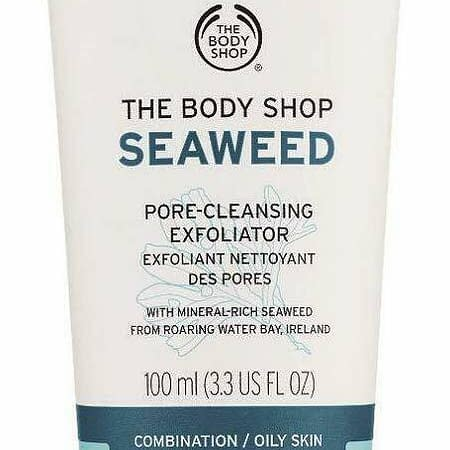 THE BODY SHOP SEAWEED PORE CLEANSING EXFOLIATOR 100 ML