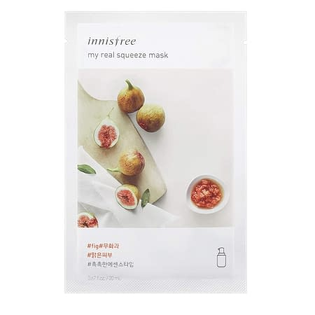 Innisfree My Real Squeeze Mask – Fig