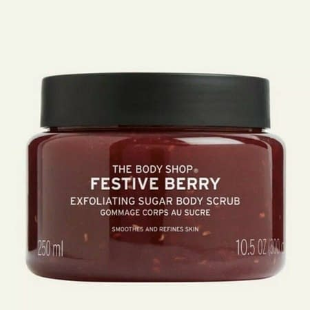 The Body Shop Festive Berry Body Sugar Scrub 250ml