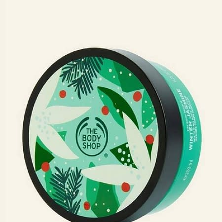 The Body Shop Winter Jasmine festive BODY BUTTER 200g