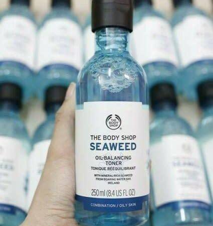 The Body Shop Seaweed Oil Balancing Toner 250ml for Combination/ Oily Skin Vegan